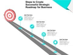 Steps To Create Successful Strategic Roadmap For Business Ppt PowerPoint Presentation Professional Backgrounds PDF