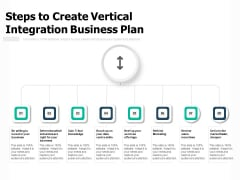 Steps To Create Vertical Integration Business Plan Ppt PowerPoint Presentation File Ideas PDF