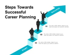 Steps Towards Successful Career Planning Ppt PowerPoint Presentation Guidelines