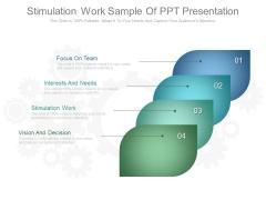 Stimulation Work Sample Of Ppt Presentation