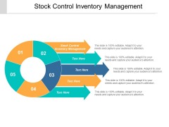 Stock Control Inventory Management Ppt PowerPoint Presentation Icon Graphics Design Cpb