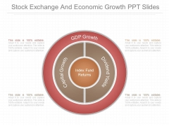 Stock Exchange And Economic Growth Ppt Slides