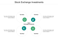 Stock Exchange Investments Ppt PowerPoint Presentation Outline Portfolio Cpb