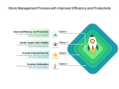 Stock Management Process With Improved Efficiency And Productivity Ppt PowerPoint Presentation Pictures Images PDF
