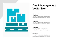 Stock Management Vector Icon Ppt PowerPoint Presentation File Clipart