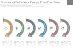 Stock Market Performance Example Powerpoint Slides