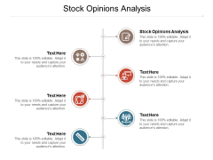 Stock Opinions Analysis Ppt PowerPoint Presentation Inspiration Objects Cpb Pdf