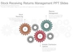 Stock Receiving Returns Management Ppt Slides