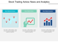 Stock Trading Advice News And Analytics Ppt Powerpoint Presentation Show Design Inspiration