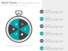 Stop Watch With Business Planning Icons Powerpoint Template