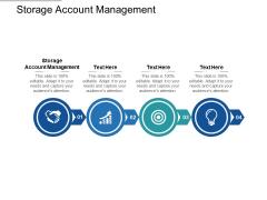 Storage Account Management Ppt PowerPoint Presentation Styles Summary Cpb