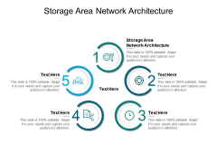 Storage Area Network Architecture Ppt PowerPoint Presentation Graphics Cpb Pdf