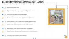 Storage Logistics Benefits For Warehouse Management System Diagrams PDF