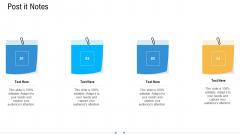 Storage Logistics Post It Notes Sample PDF