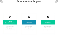 Store Inventory Program Ppt PowerPoint Presentation Infographics Brochure Cpb