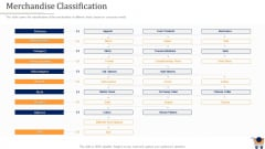 Store Positioning In Retail Management Merchandise Classification Professional PDF