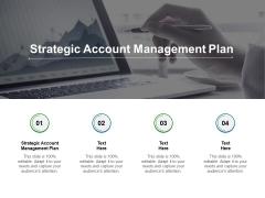 Strategic Account Management Plan Ppt PowerPoint Presentation Infographics Design Inspiration Cpb
