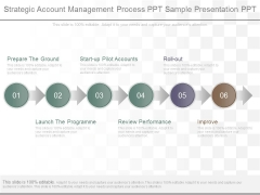 Strategic Account Management Process Ppt Sample Presentation Ppt