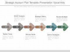 Strategic Account Plan Template Presentation Visual Aids