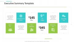 Strategic Action Plan For Business Organization Executive Summary Template Ideas PDF