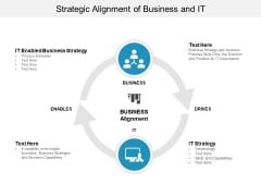 Strategic Alignment Of Business And It Ppt Powerpoint Presentation Model Objects