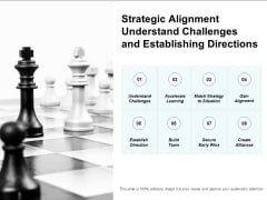Strategic Alignment Understand Challenges And Establishing Directions Ppt PowerPoint Presentation Gallery Elements