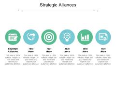 Strategic Alliances Ppt PowerPoint Presentation Portfolio Maker Cpb