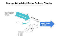 Strategic Analysis For Effective Business Planning Ppt PowerPoint Presentation Icon Infographic Template