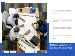 Strategic Analysis In Business Management Ppt PowerPoint Presentation Clipart