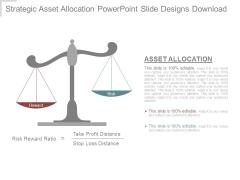 Strategic Asset Allocation Powerpoint Slide Designs Download
