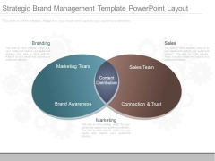 Strategic Brand Management Template Powerpoint Layout
