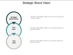 Strategic Brand Vision Ppt PowerPoint Presentation Slides Ideas Cpb