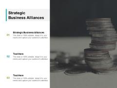 Strategic Business Alliances Ppt PowerPoint Presentation Model Demonstration Cpb