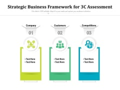Strategic Business Framework For 3C Assessment Ppt PowerPoint Presentation Infographics Deck PDF