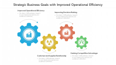 Strategic Business Goals With Improved Operational Efficiency Ppt Gallery Graphics PDF