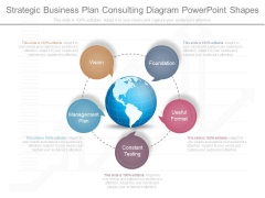 Strategic Business Plan Consulting Diagram Powerpoint Shapes