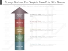 Strategic Business Plan Template Powerpoint Slide Themes