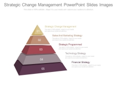 Strategic Change Management Powerpoint Slides Images