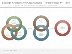 Strategic Changes And Organizational Transformation Ppt Icon