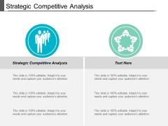 Strategic Competitive Analysis Ppt PowerPoint Presentation Portfolio Clipart