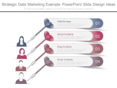Strategic Data Marketing Example Powerpoint Slide Design Ideas