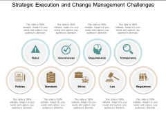 Strategic Execution And Change Management Challenges Ppt PowerPoint Presentation Inspiration Slide