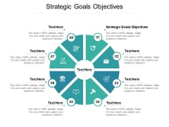 Strategic Goals Objectives Ppt PowerPoint Presentation Professional Design Ideas Cpb