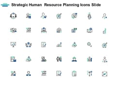 Strategic Human Resource Planning Icons Slide Ppt PowerPoint Presentation Portfolio Inspiration