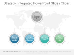 Strategic Integrated Powerpoint Slides Clipart