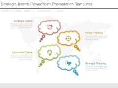 Strategic Intents Powerpoint Presentation Templates