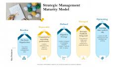 strategic leadership planning procedure strategic management maturity model ppt powerpoint presentation infographics background pdf