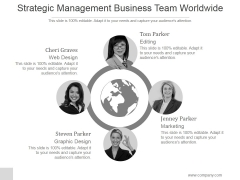 Strategic Management Business Team Worldwide Ppt PowerPoint Presentation Shapes