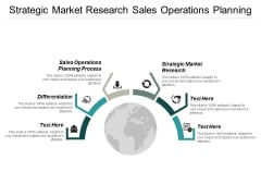 Strategic Market Research Sales Operations Planning Process Differentiation Ppt PowerPoint Presentation Slides Guide