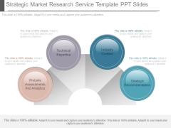 Strategic Market Research Service Template Ppt Slides